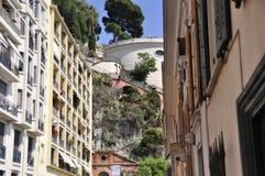 Un giorno di estate sulla via in Nizza, la Francia Fotografia Stock