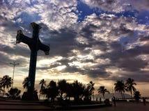 Un giorno in La Cruz di Puerto Fotografia Stock Libera da Diritti