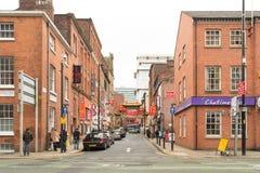 Un giorno nella città Manchester della Cina Fotografia Stock Libera da Diritti