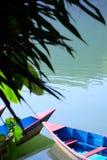 Un giorno pacifico sul lago Fotografia Stock Libera da Diritti