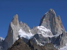 Un giorno perfetto per l'alpinista Fotografie Stock