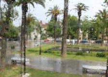 Un giorno piacevole e piovoso Immagini Stock Libere da Diritti