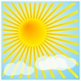 Un giorno pieno di sole? Fotografia Stock