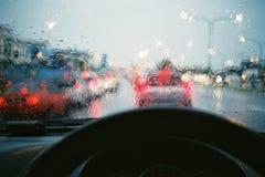 Un giorno piovoso Fotografia Stock Libera da Diritti