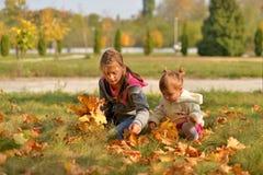 Un giorno soleggiato caldo in autunno dorato fotografia stock libera da diritti