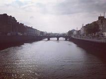 Un giorno soleggiato a Dublino Fotografie Stock