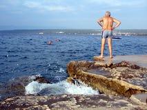 Un giorno sul mare Fotografia Stock Libera da Diritti