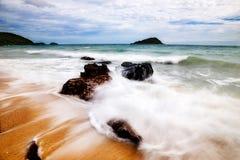 Un giorno sulla spiaggia Fotografie Stock Libere da Diritti