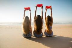 Un giorno sulla spiaggia fotografie stock