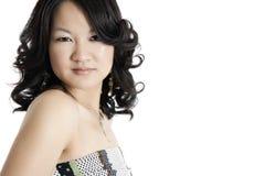 Un giovane modello di modo asiatico Immagini Stock Libere da Diritti