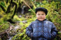 Un giovane ragazzo Fotografia Stock Libera da Diritti