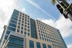 Un giro degli uffici corporativi in San del centro Jose Area immagine stock libera da diritti