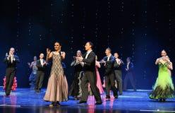 Un giro del ballo del mondo dell'Austria di applauso- Fotografie Stock