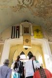 Un giro del monastero Immagine Stock