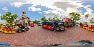 un giro Key West Florida di 360 città Immagini Stock