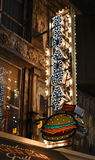 Un giunto dell'interno popolare dell'hamburger a Las Vegas Immagine Stock