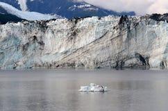 Un glacier d'Alaska Photos libres de droits