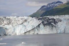 Un glacier d'Alaska Photo libre de droits