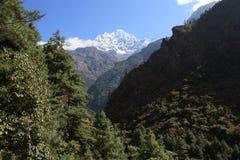 Un Glipse de Everest Foto de archivo