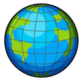 Un globe Photos libres de droits