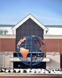 Un globe d'hiver Images stock