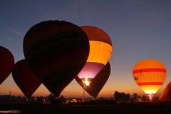 Un globo de aire caliente fotografía de archivo libre de regalías
