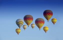 Un globo del aire caliente fotografía de archivo libre de regalías