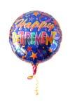 Un globo festivo del helio   Foto de archivo
