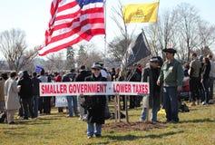 Un gobierno más pequeño, impuestos más inferiores Foto de archivo libre de regalías