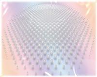 Un gráfico colorido ligero con las pequeñas burbujas en todas partes Foto de archivo