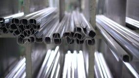 Un gran número de perfil del metal de la ventana 4K metrajes