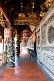 Un gran templo majestuoso magnífico del clan en penang Fotos de archivo libres de regalías