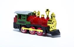 Un gran tren de trabajo viejo del vapor Fotografía de archivo
