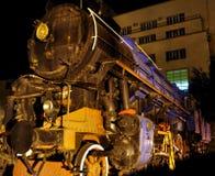 Un gran tren de trabajo viejo del vapor Imagenes de archivo