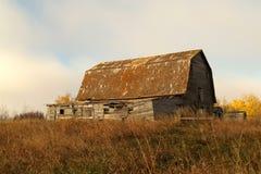 Un granaio della Manitoba Fotografie Stock