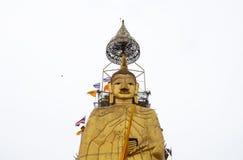 Un grand Bouddha dans le temple de Bangkok, Thaïlande Photographie stock