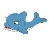 Un grand dauphin heureux Images libres de droits