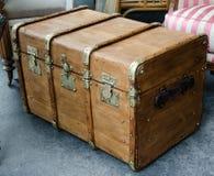 Un grand et grand vieux cas en bois Photos libres de droits