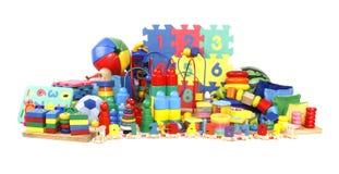 Un grand nombre de jouets Photos libres de droits
