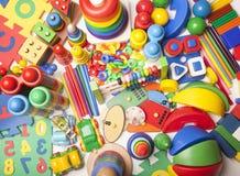 Un grand nombre de jouets Photographie stock libre de droits