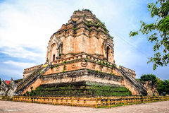 Un grand stupa Photo libre de droits