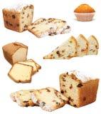 Un grande bello insieme della confetteria del pane Fotografia Stock Libera da Diritti