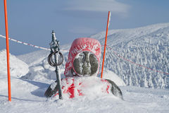 Grande Buddha su Zao san Fotografia Stock Libera da Diritti