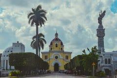 Un grande cementery in La Habana, Cuba Immagini Stock Libere da Diritti