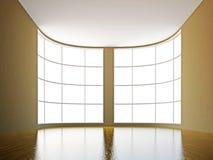 Un grande corridoio Fotografie Stock Libere da Diritti