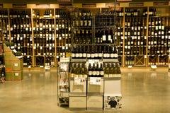 Deposito liquido dell'alcool fotografia stock