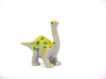 Un grande grande apatosauro verde di coloritura Immagine Stock