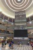 Un grande spazio all'aperto dell'entrata del sud al centro commerciale dell'America dentro Fotografie Stock Libere da Diritti