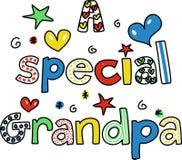 Un grandpa speciale Immagine Stock