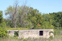 Un granero dilapidado Fotografía de archivo